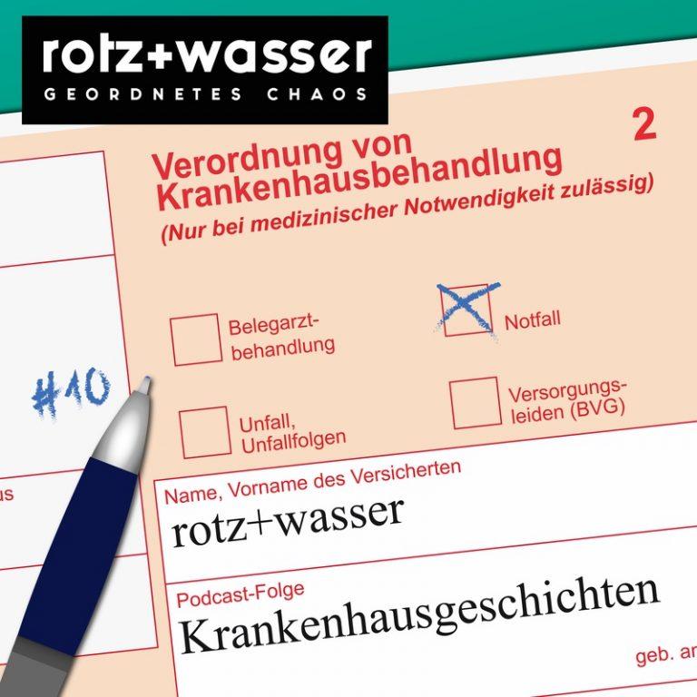 rotz + wasser
